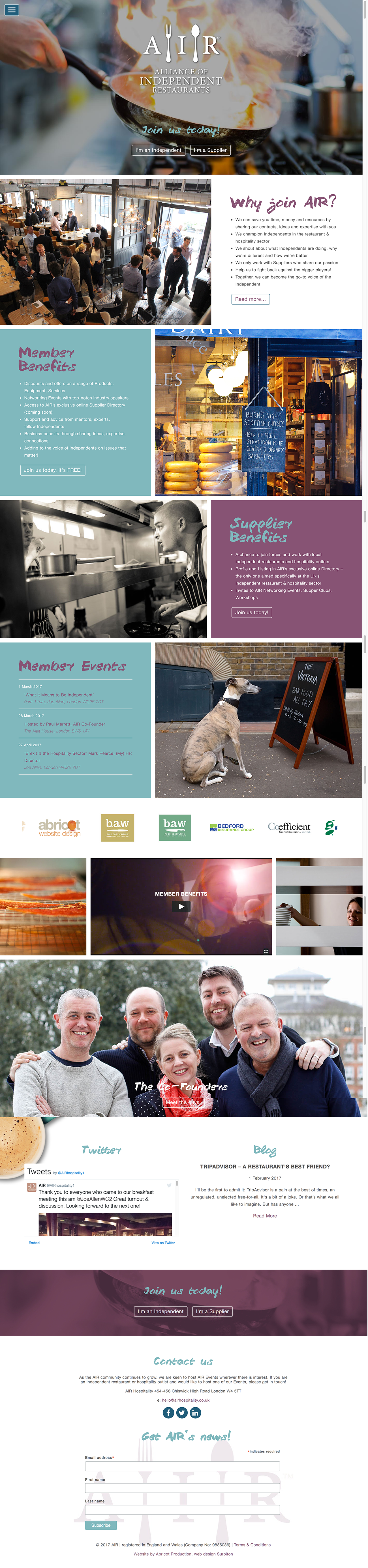 Websites - Abricot
