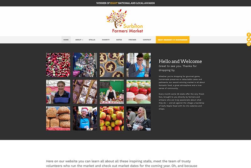 surbiton farmers market website
