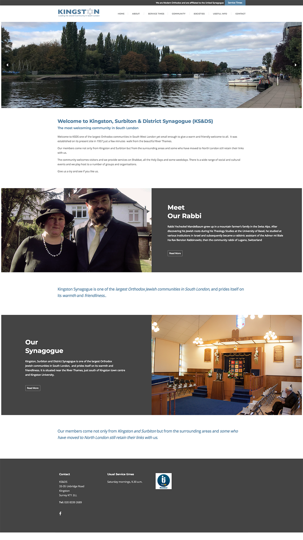 Kingston Synagogue Website