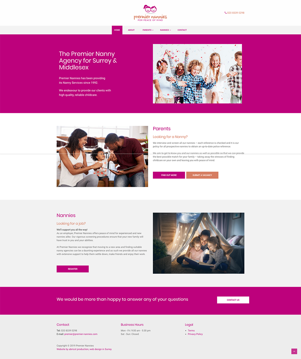 Abricot Production | Web designers in Surrey