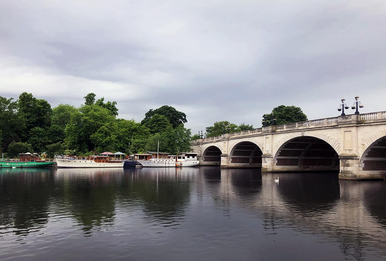 Kingston-upon-Thames bridge, photo by web designers in Surrey