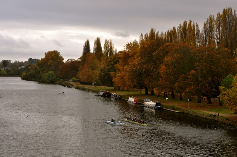 The River Thames view from Kingston Bridge