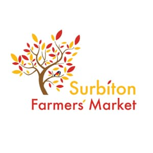 The Surbiton Farmers Market in Surbiton, Surrey