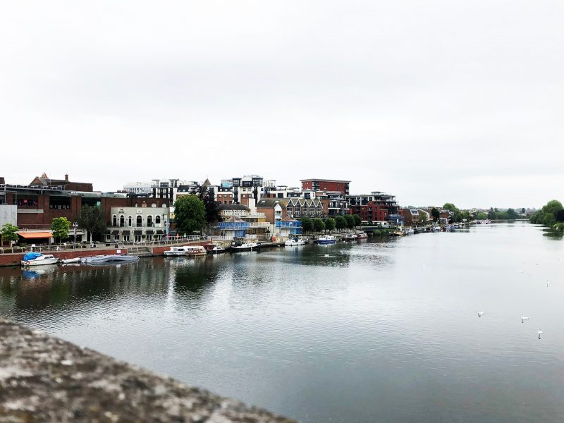 Kingston view from the bridge