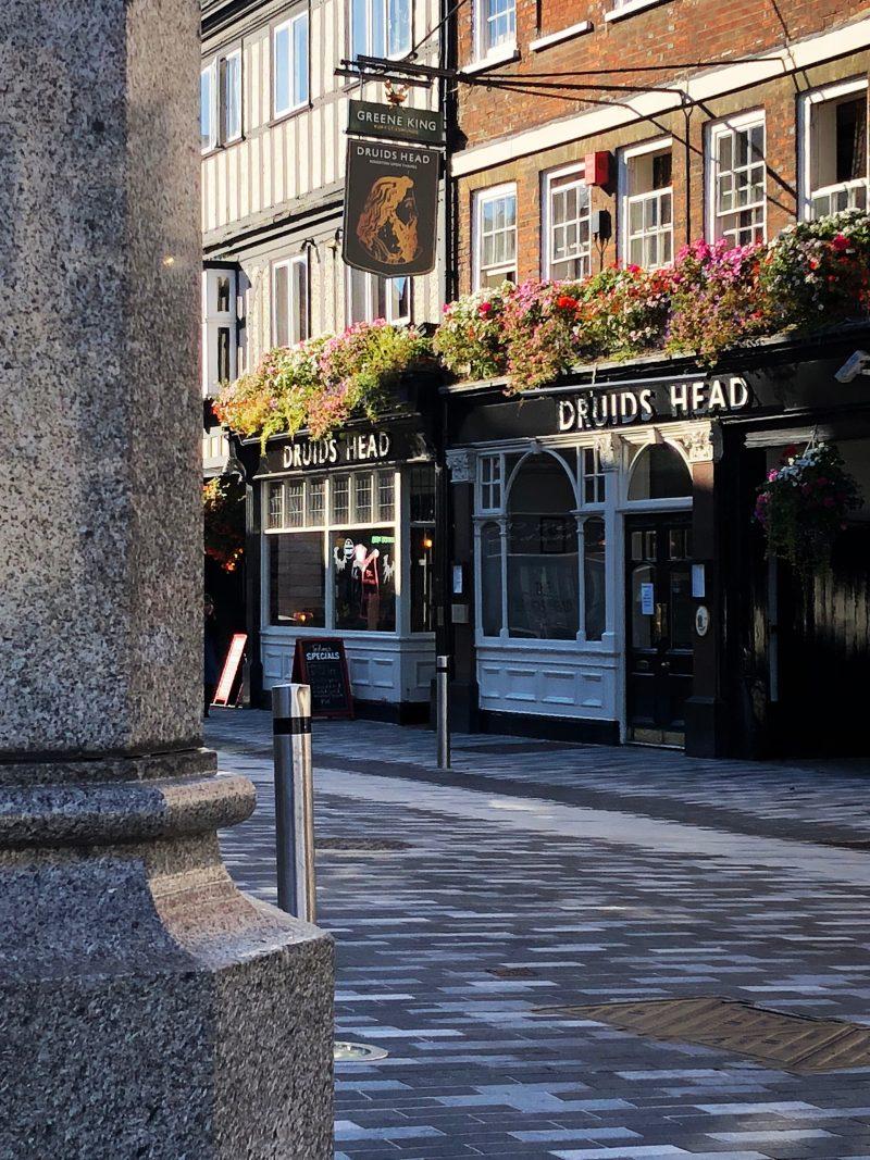 The Druids Head pub in Kingston Surrey