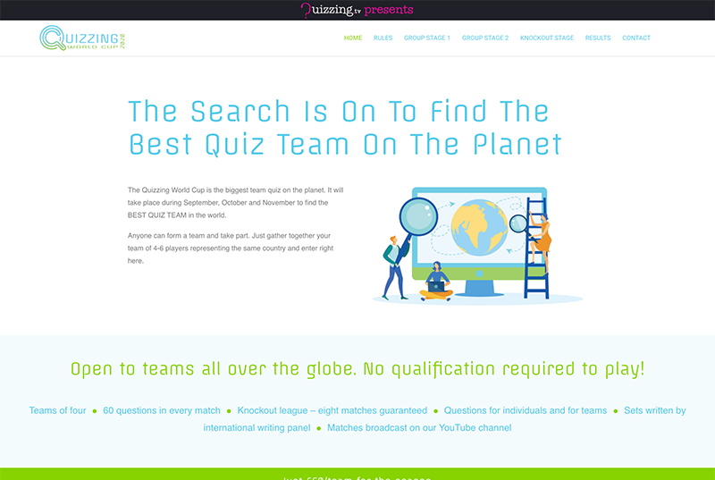 quizzing world cup website